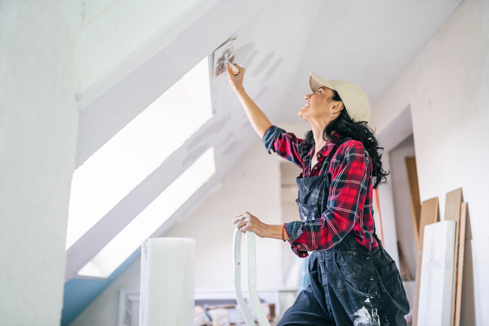 Mehr Nutzfläche durch Dachbodenausbau