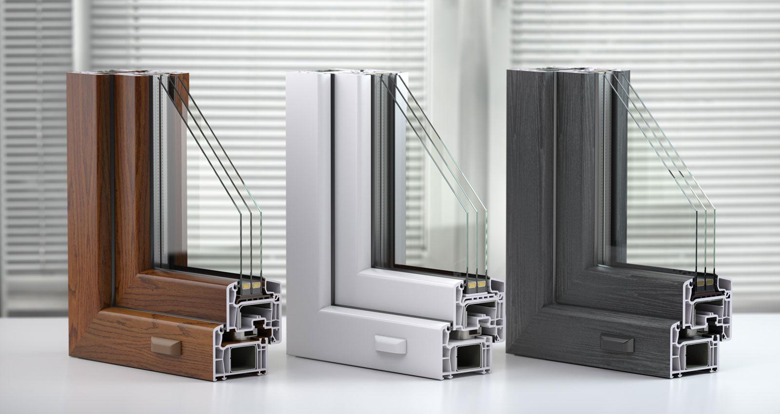 Fenster mit Dreischeiben-Wärmeschutzglas