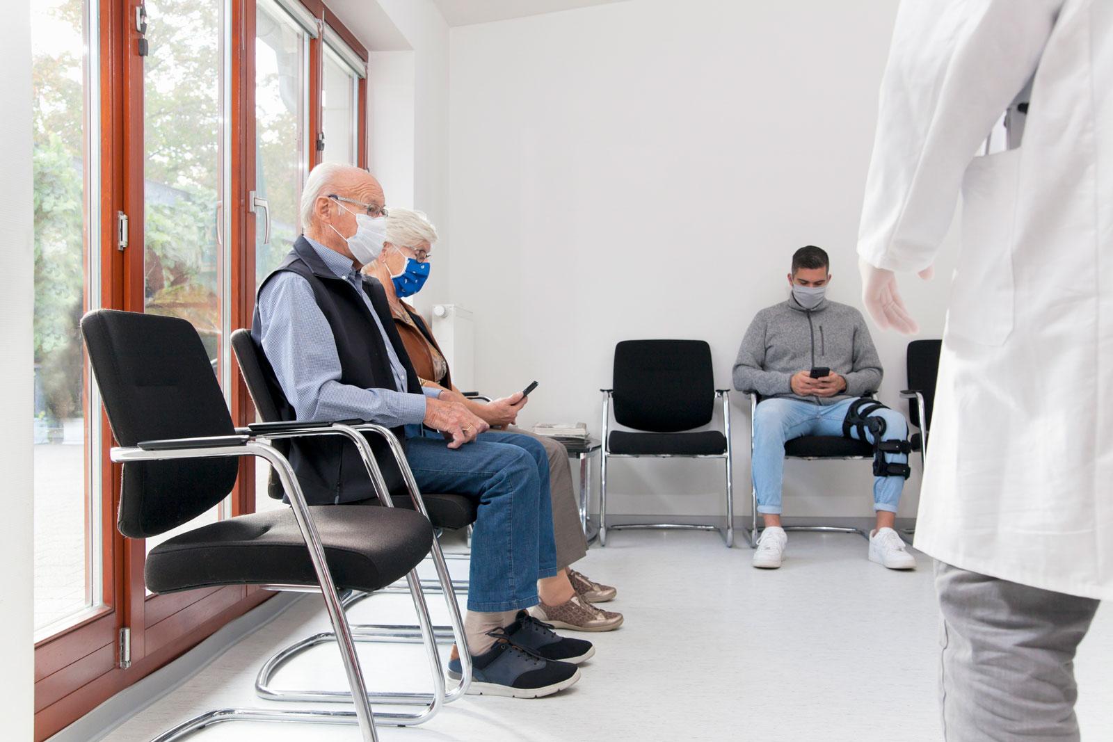 Hypochonder gehen früher zum Arzt und leben deshalb länger.