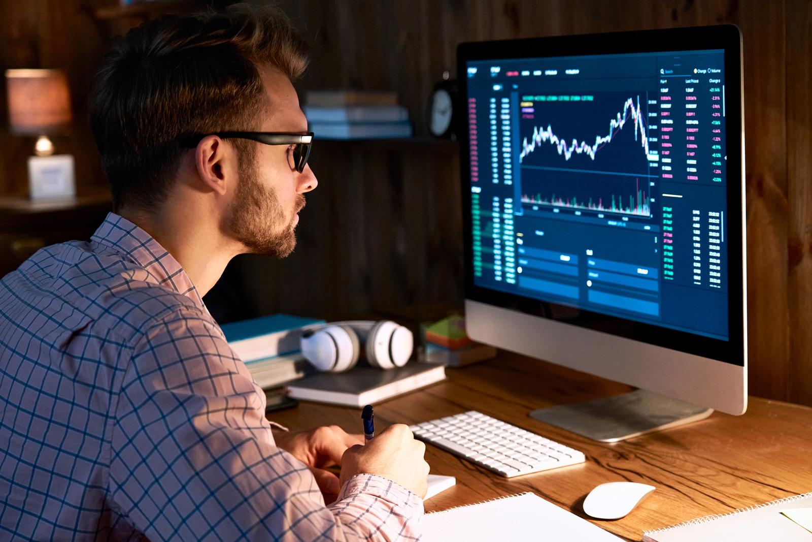 Wertpapierhandel kann zu einer zeitaufwändigen Leidenschaft werden.