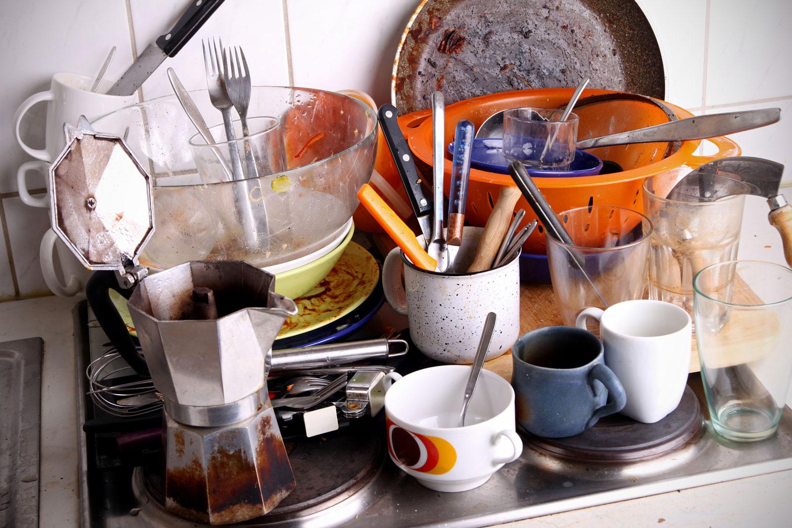 In der ersten Wohnung können Sauberkeit und Ordnung erlernt werden.