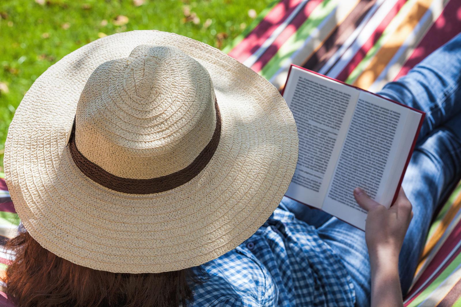 Sommerurlaub: Zeit zum Bücher Lesen