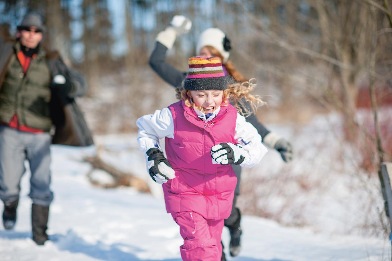 Like Ice in the Sunshine: Bewegung bei Schnee und Frost hebt die Winterstimmung und stärkt das Immunsystem.