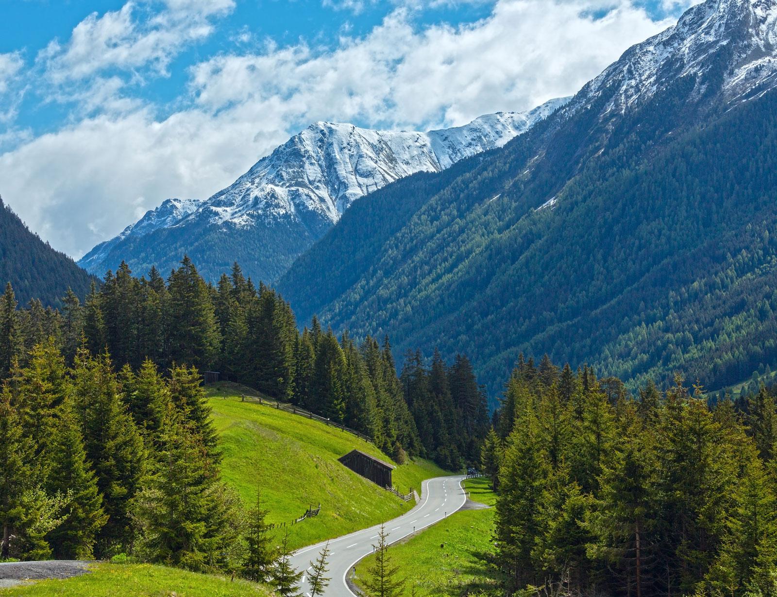 Traumhafter Ausblick garantiert: Die Silvretta-Hochalpenstraße ist ideal für Genießer.
