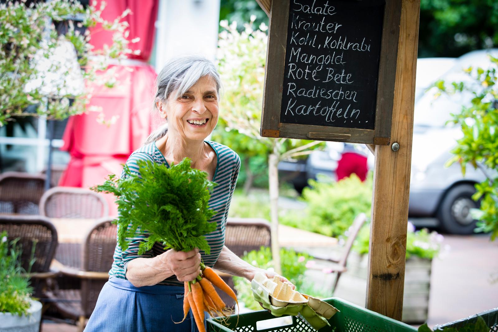 Die beste Wahl: Frisches Gemüse aus der Region