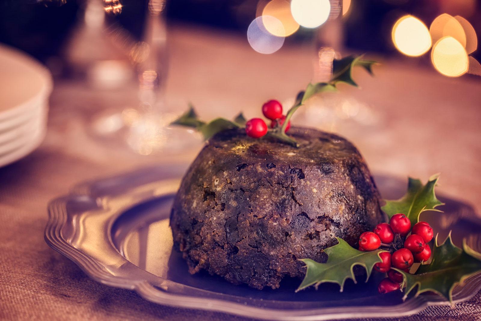 Trockenobst: In Großbritannien hat der Christmas Pudding Tradition.