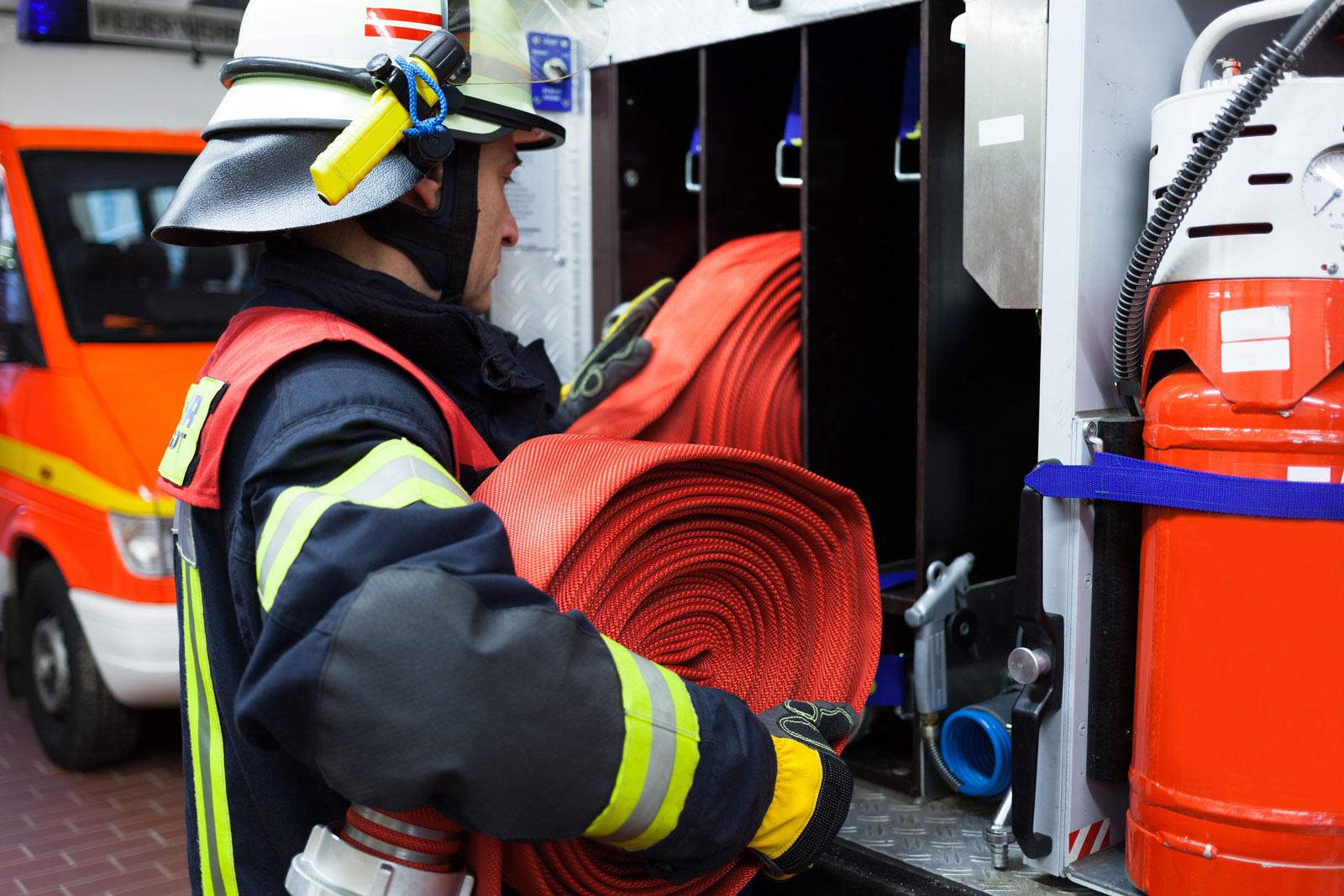 Freiwillige Feuerwehr: 279.000 Hilfseinsätzen pro Jahr