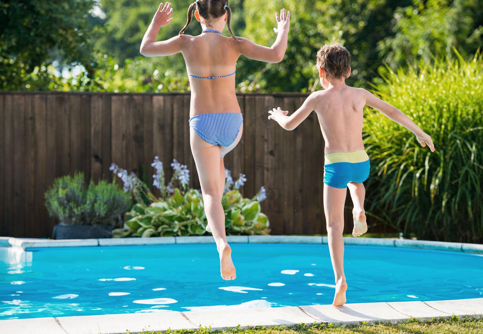 Gartenspaß: Mit einem Pool im Garten lässt sich das kühle Nass ohne lange Fahrten genießen.