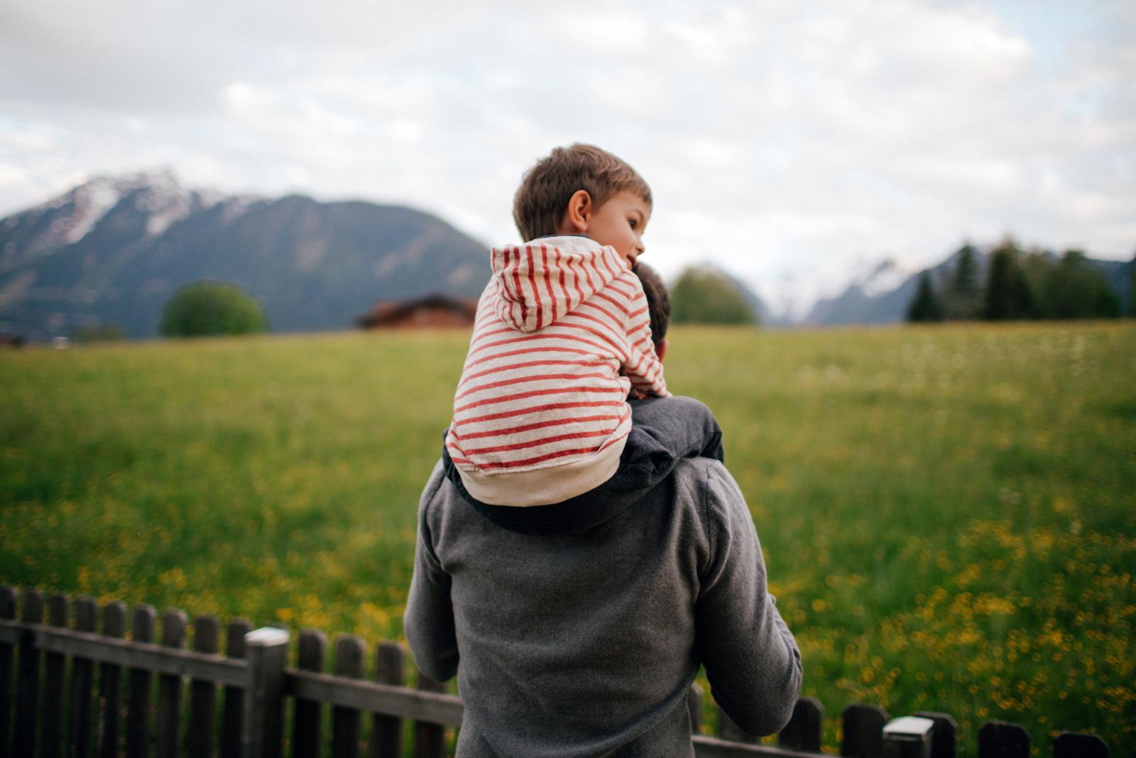 """Väterkarenz: """"Eine riesige Bereicherung, die man nie vergisst""""."""