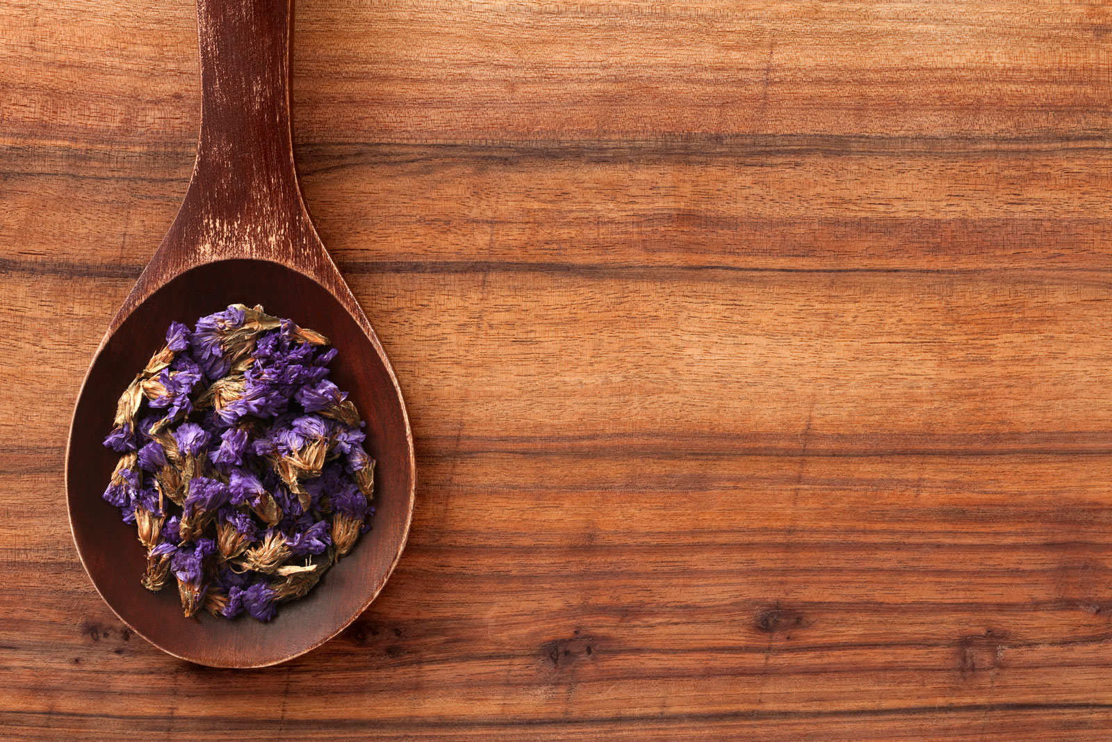 Getrocknete Lavendelblüten