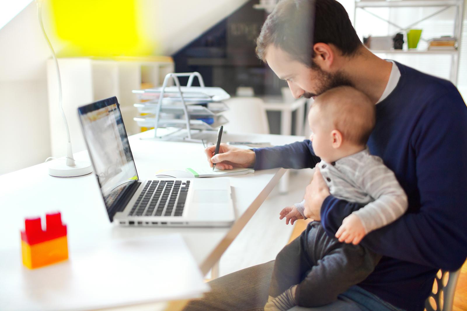 In Deutschland, Österreich und der Schweiz arbeiten etwa 20 Prozent der Arbeitnehmer im HomeOffice.