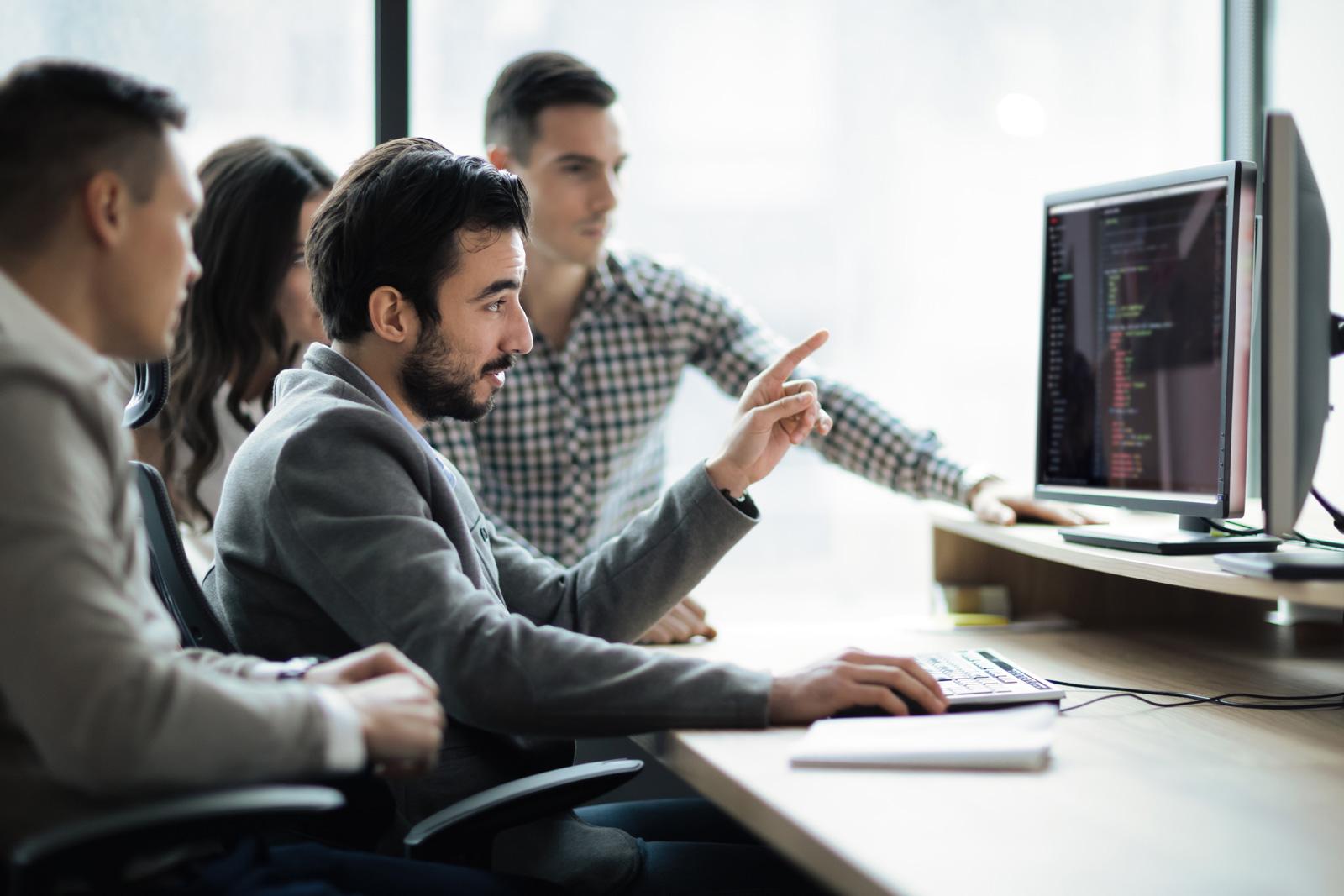 Leitung von IT-Teams und Koordnation von Projekten