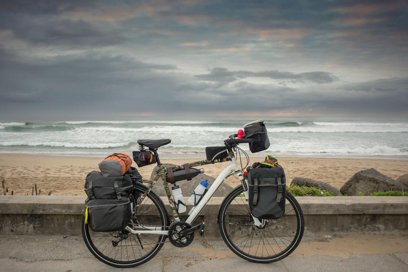Anderes Reisen: Auf Radtouren setzen wir uns intensiver mit unserer Umgebung auseinander.
