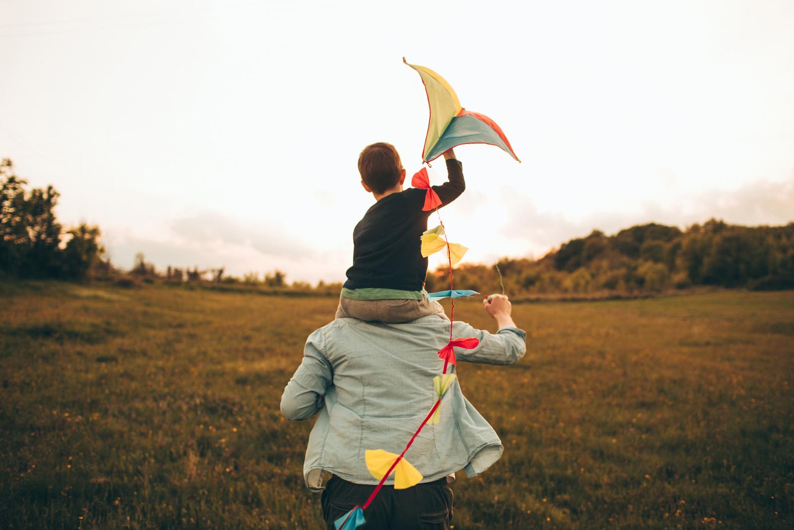 Vom Winde verweht: Drachen steigen lassen.