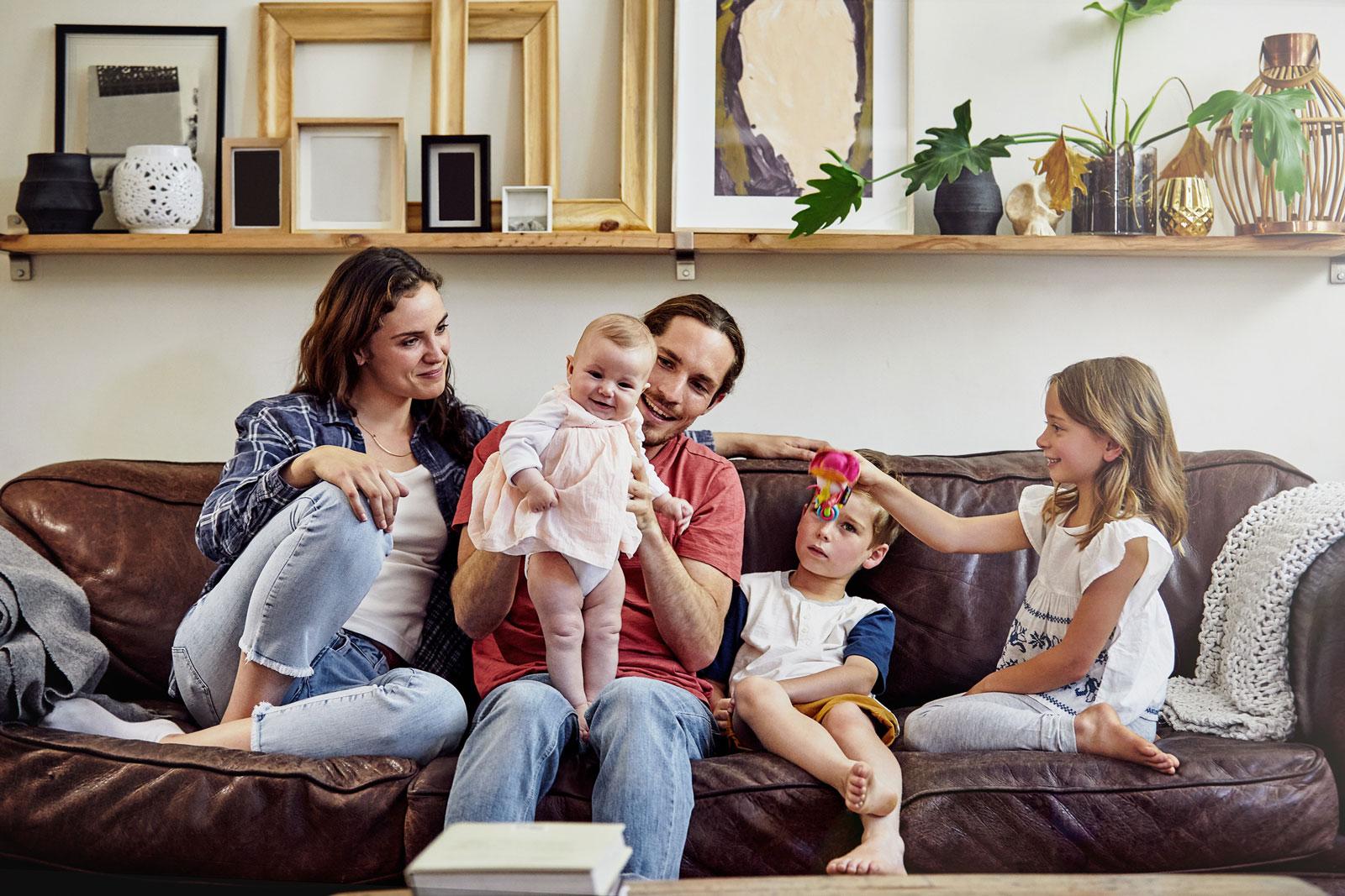 Vorsorge: Mit dem Familienzuwachs nimmt auch der Absicherungsbedarf zu.
