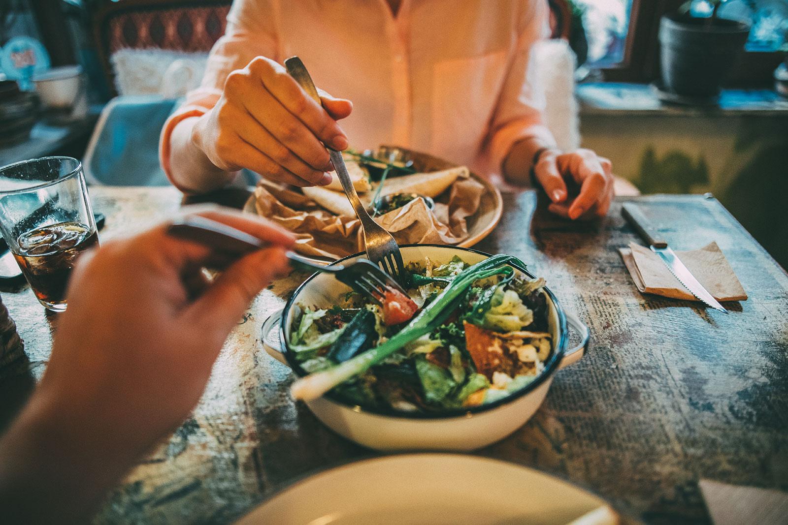 Die Auswahl an Speisen ist heute vielfältiger denn je. Was aber ist gesund?