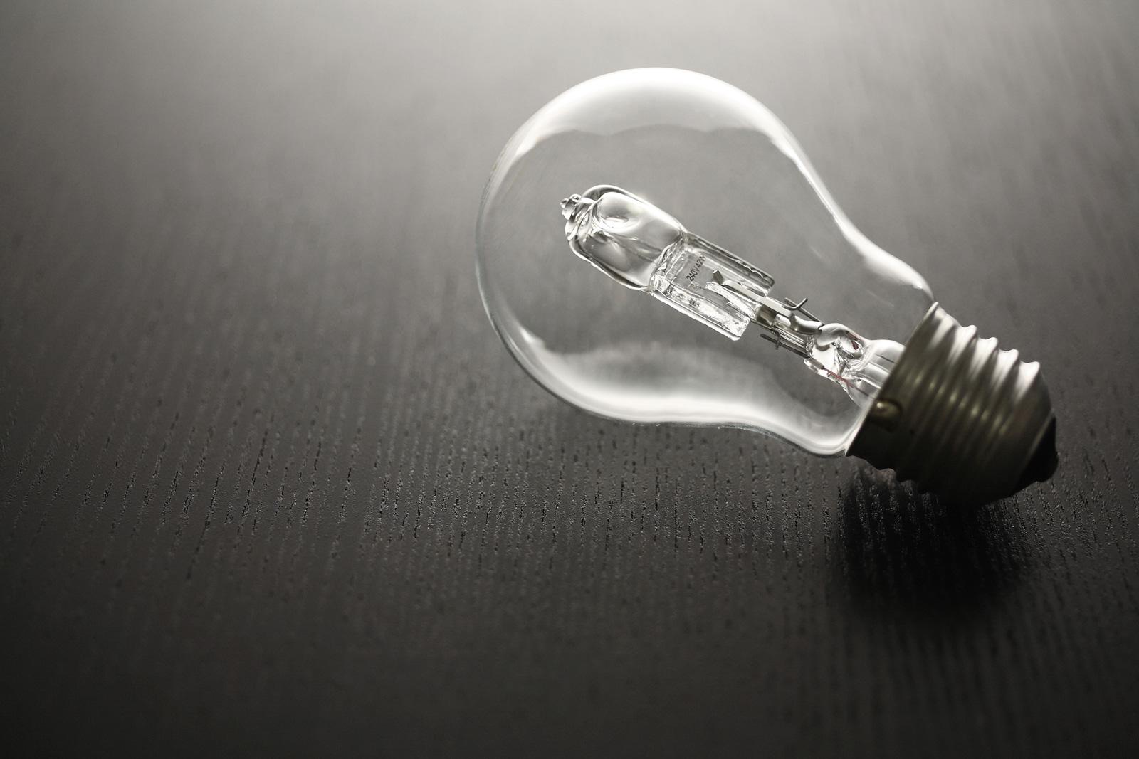Halogen-Birnen: Wegen mangelnder Energie-Effizienz ein Auslaufmodell.