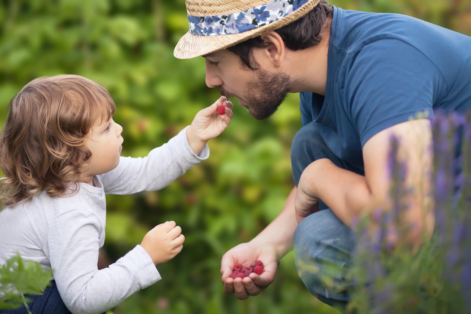 Obst selber pflücken ist für Kinder ein Erlebnis.