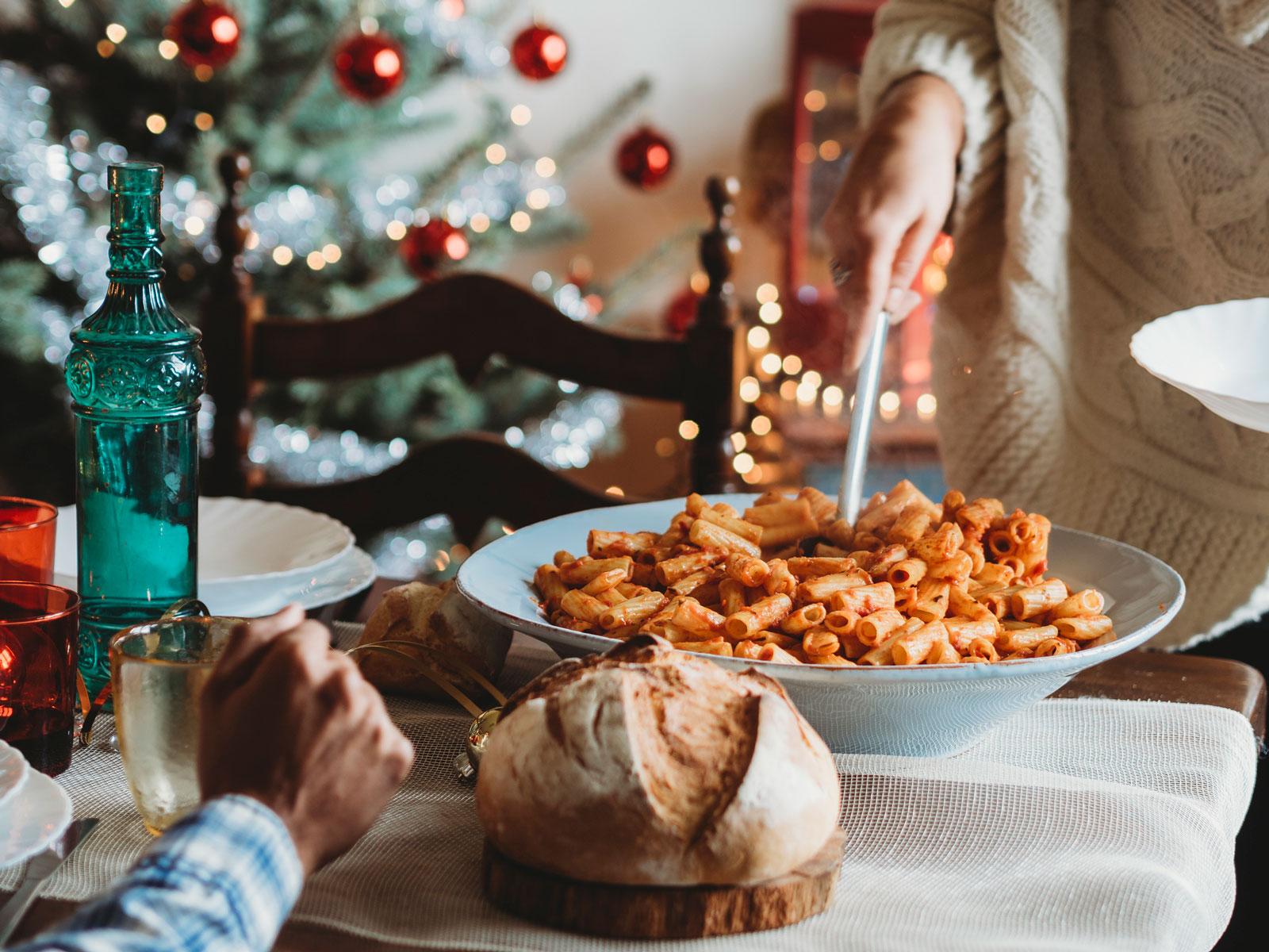 Pasta-Liebe: An Heilig Abend sind Nudeln schnell gemacht.