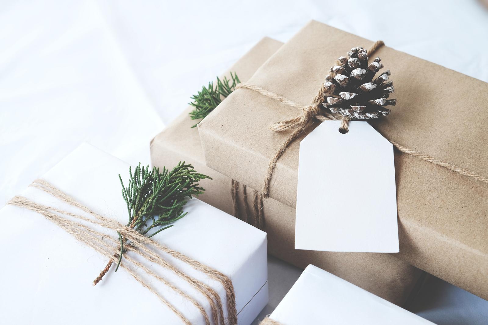 Natürlich schöne Geschenke brauchen kein Plastikband und Glitzerpapier.