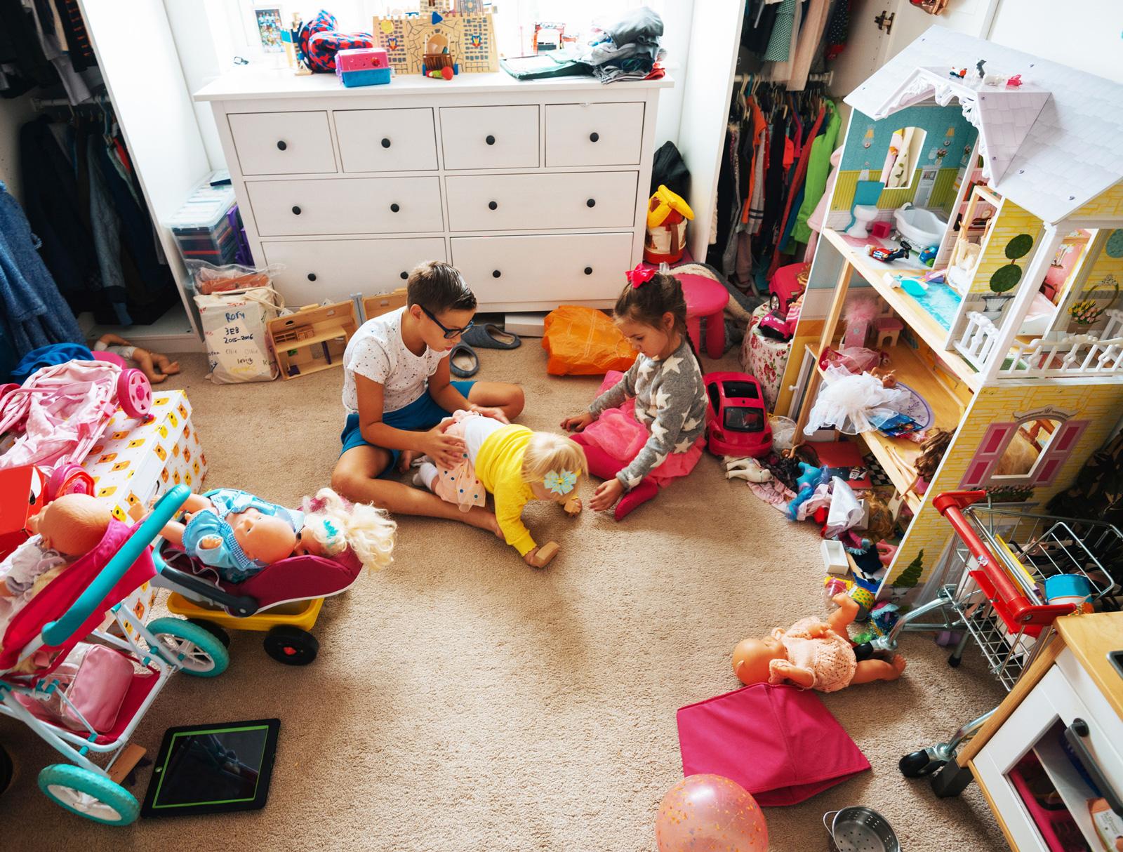 Irgendwann ist auch das Kindezimmer fällig.