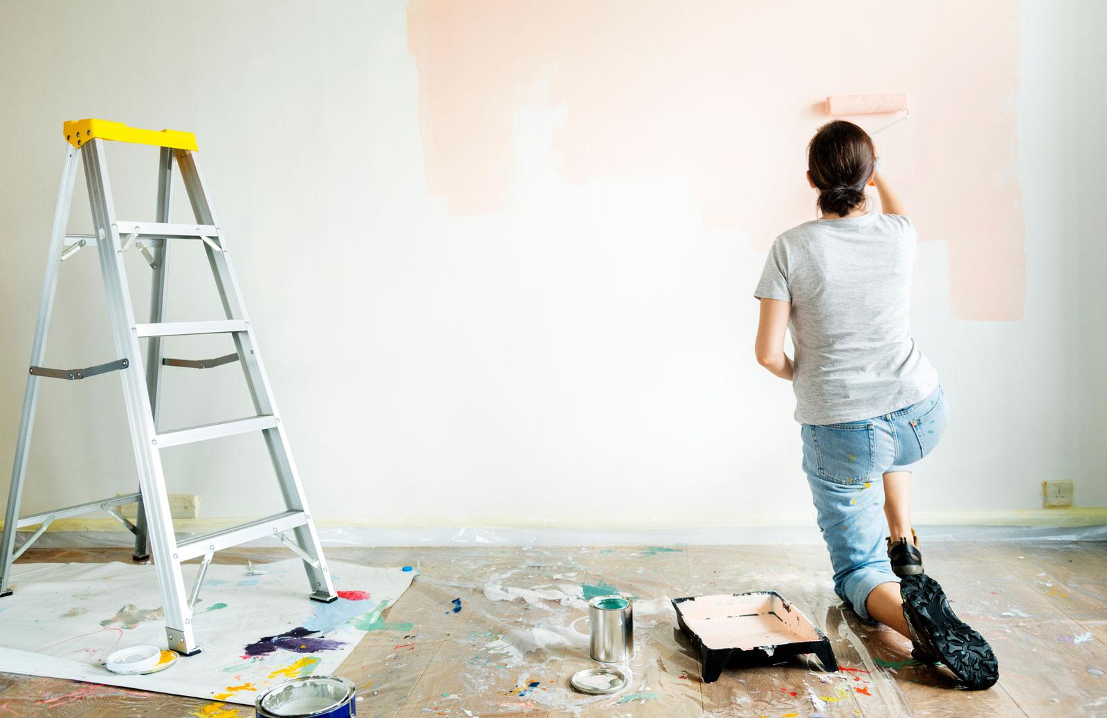 Frisch gestrichen: Mit den neuen Wandfarben kannst du frische Akzente setzen.
