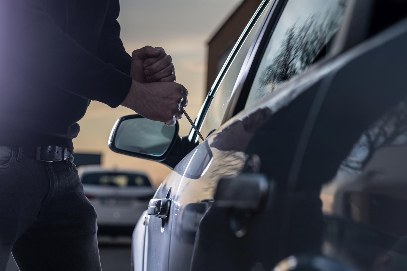 Auch wenn die Zahl rückläufig ist: 2017 wurden knapp 2.700 Fahrzeuge gestohlen.