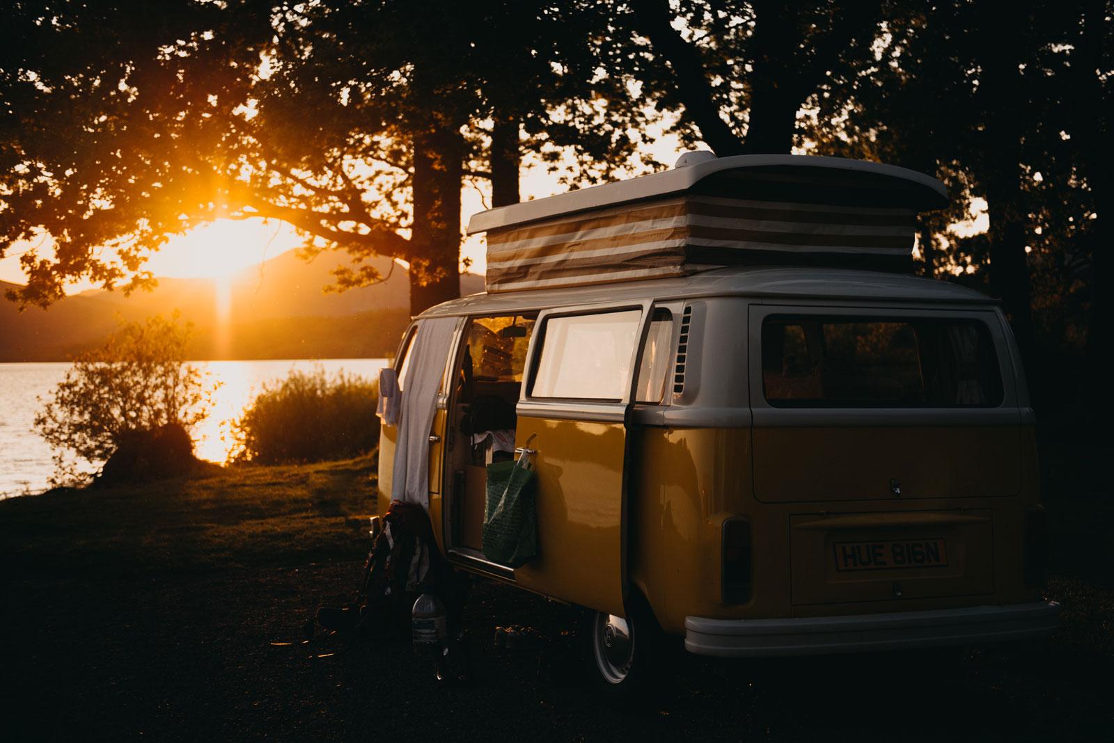 Klassiker der 1970er Jahre: Camper-Bus von Volkswagen