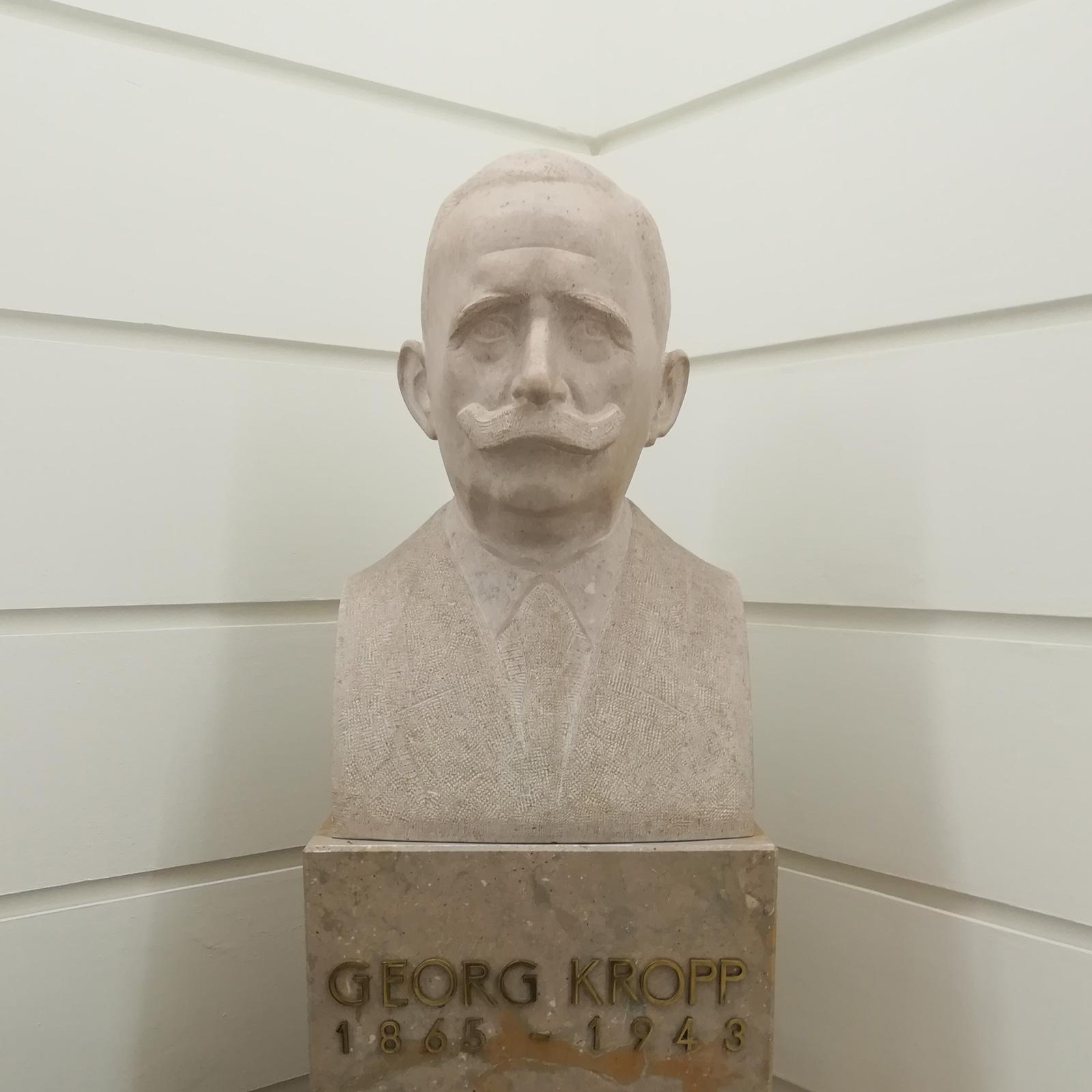 Büste von Wüstenrot-Gründer Georg Kropp