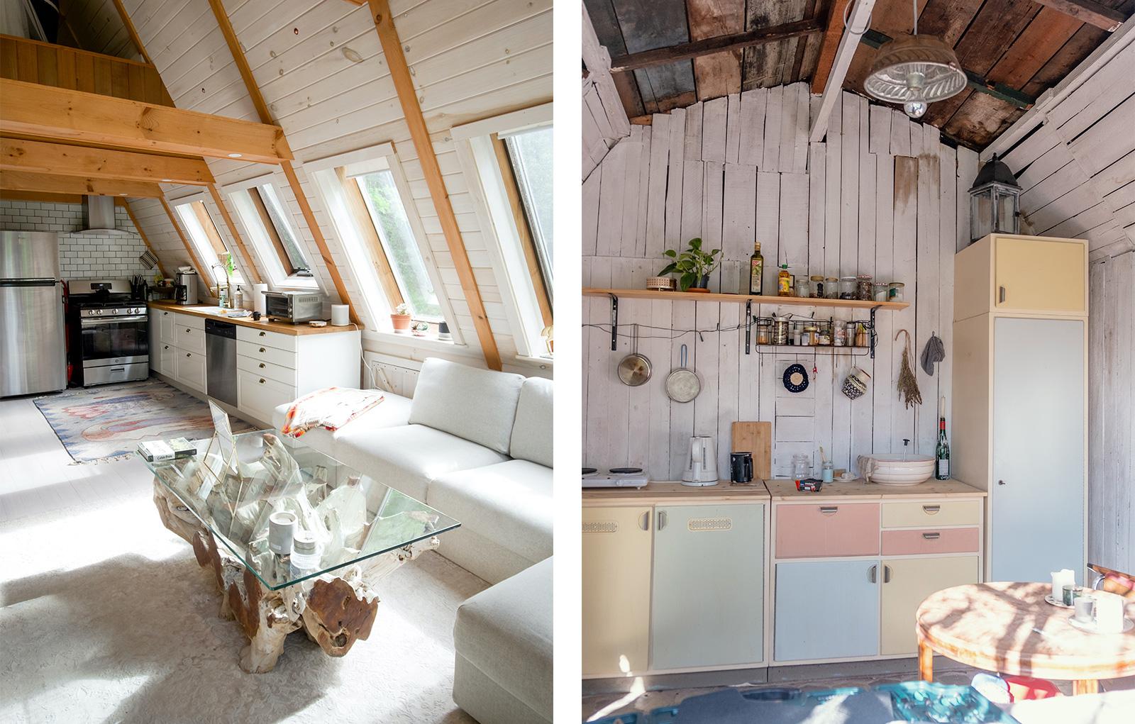 Elegant oder provisorisch: Landhaus-Stil