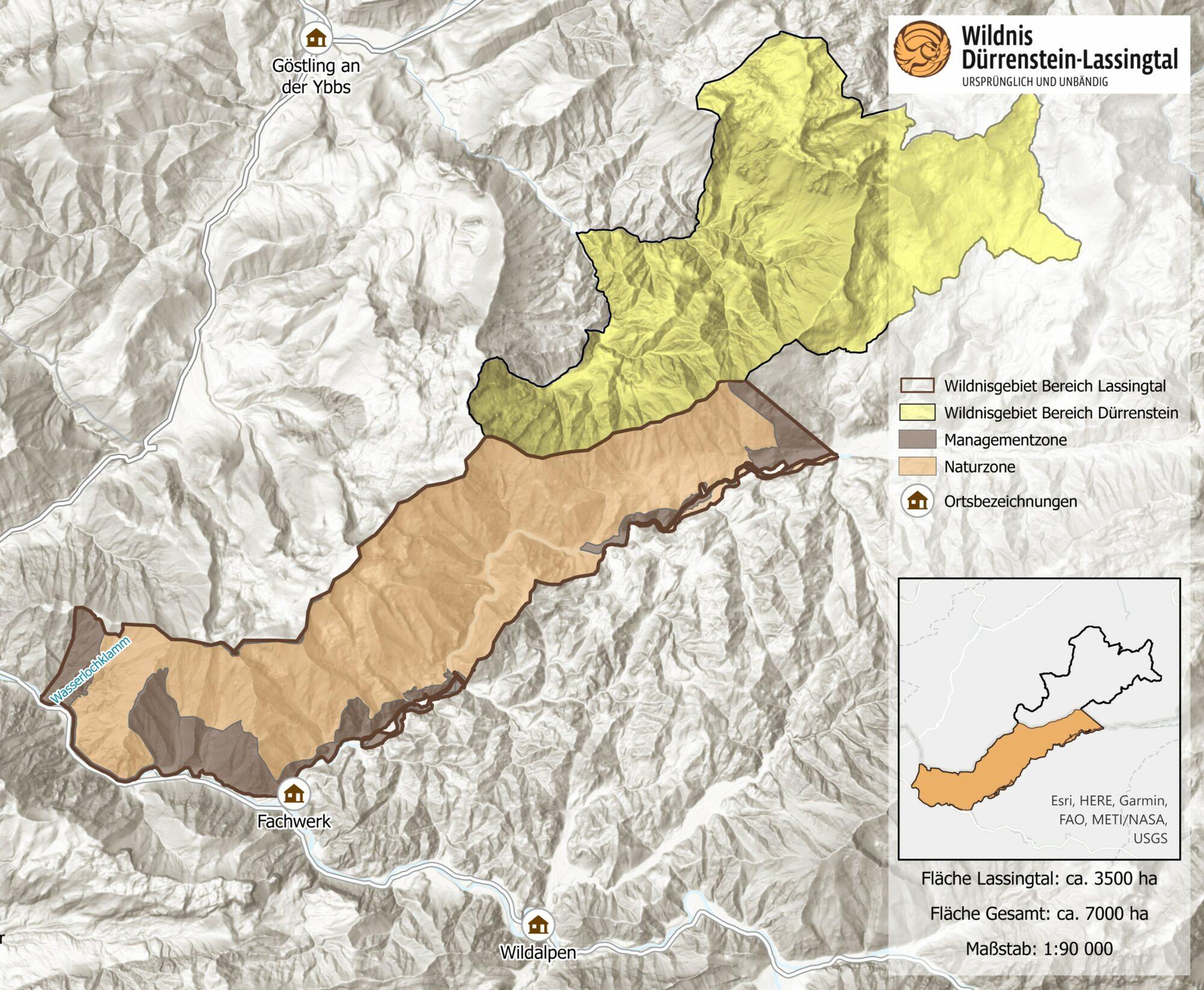 Wildnisgebiet Dürrenstein-Lassingtal