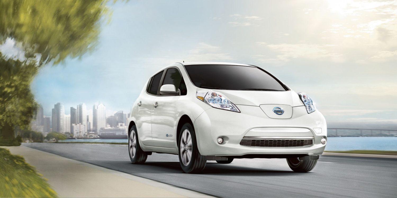 Bei den Verkaufszahlen der Elektroautos konnte sich Nissan an die Spitze setzen.