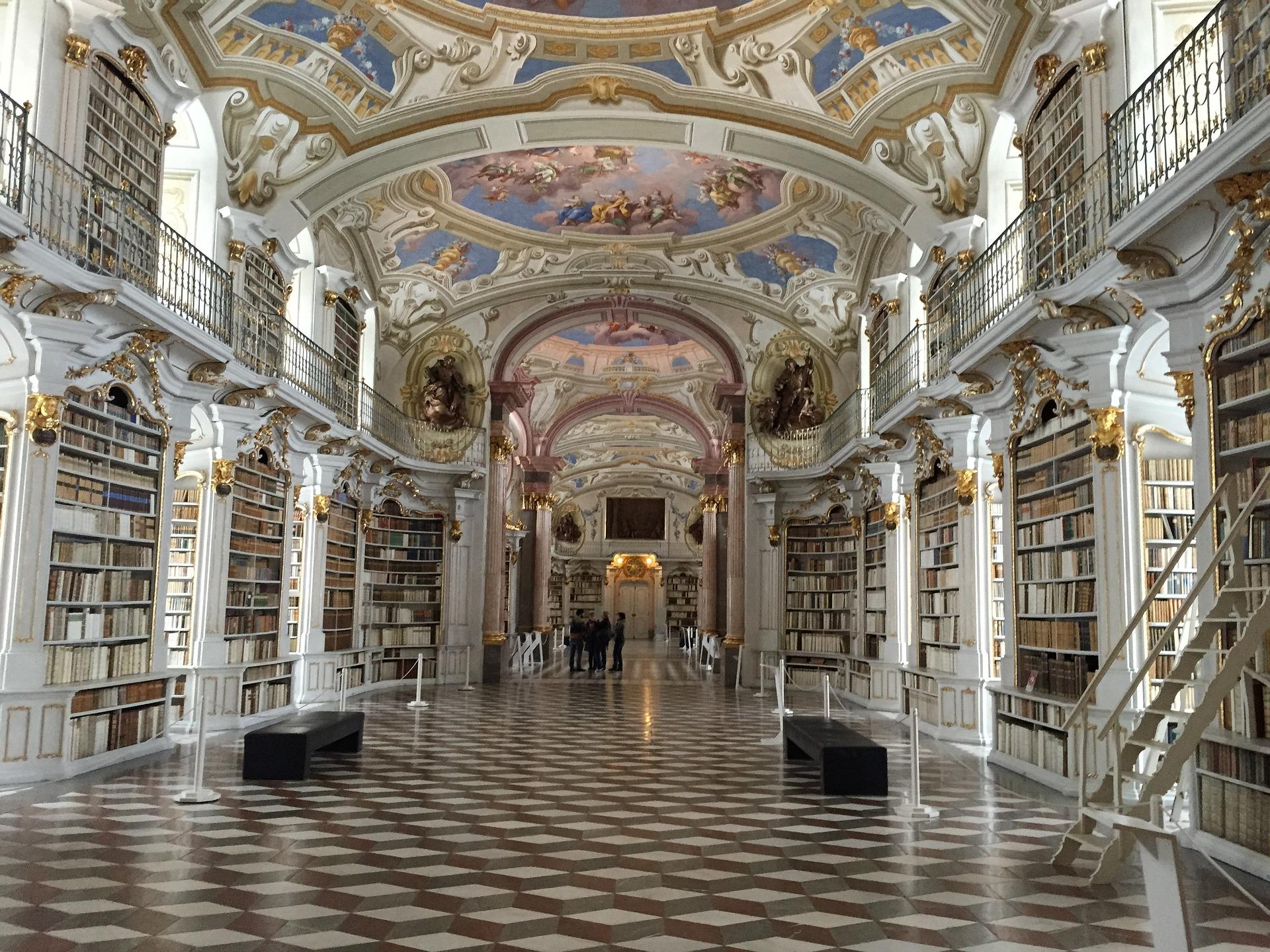 Atemberaubend: Admonter Stiftsbibliothek