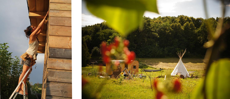 Lisa Pflegers Grundstück im Burgenland