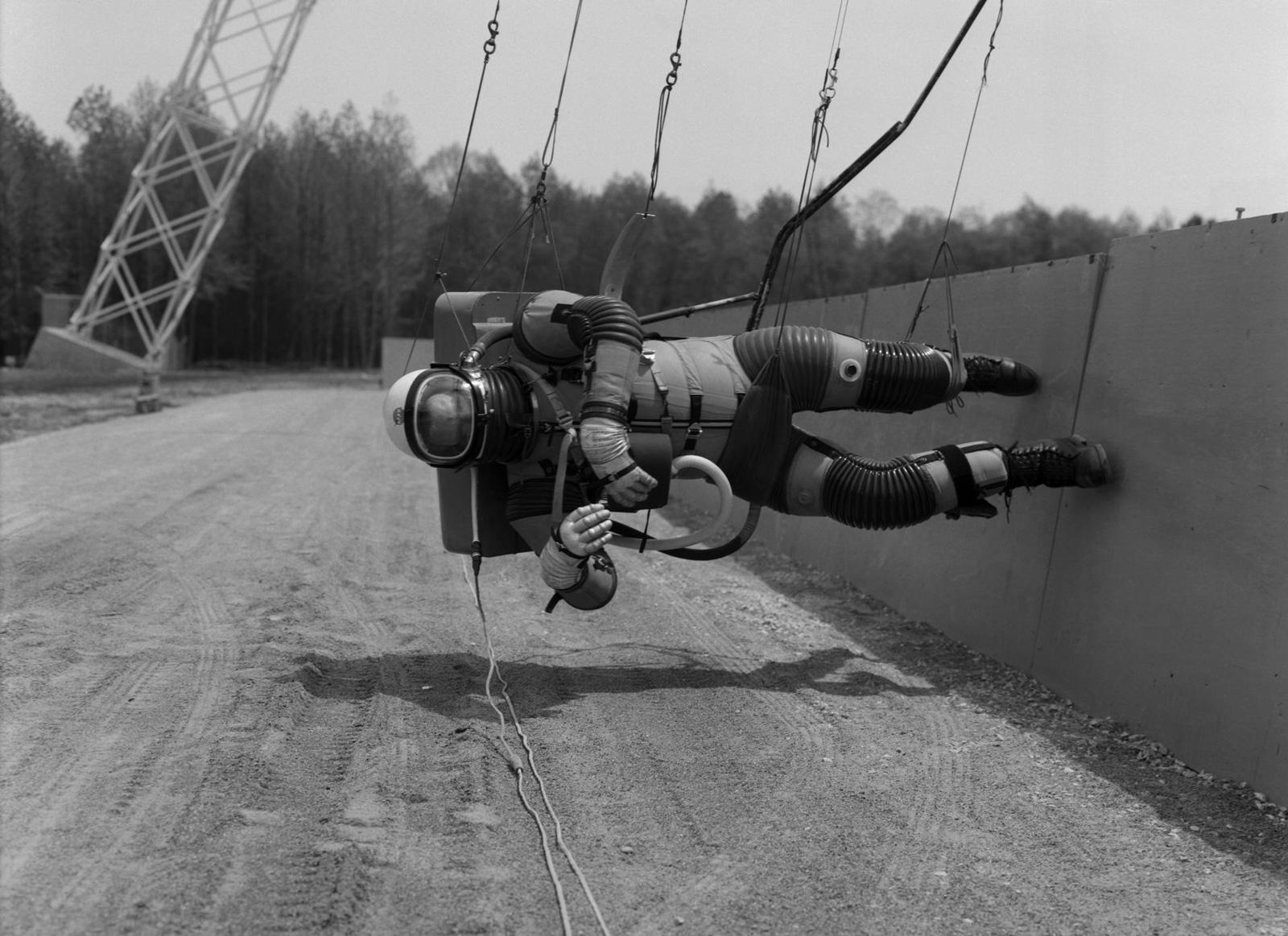 Astronauten-Ausbildung in den 1960er Jahren