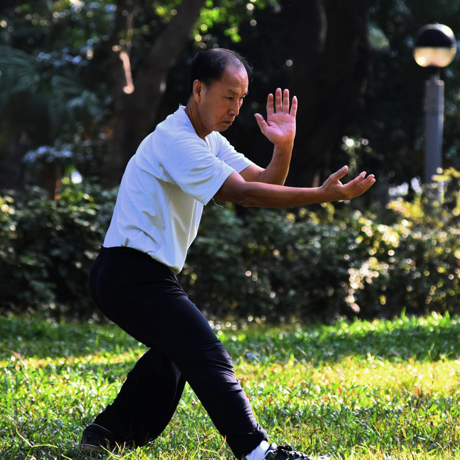 Tai Chi fördert Balance und Koordination