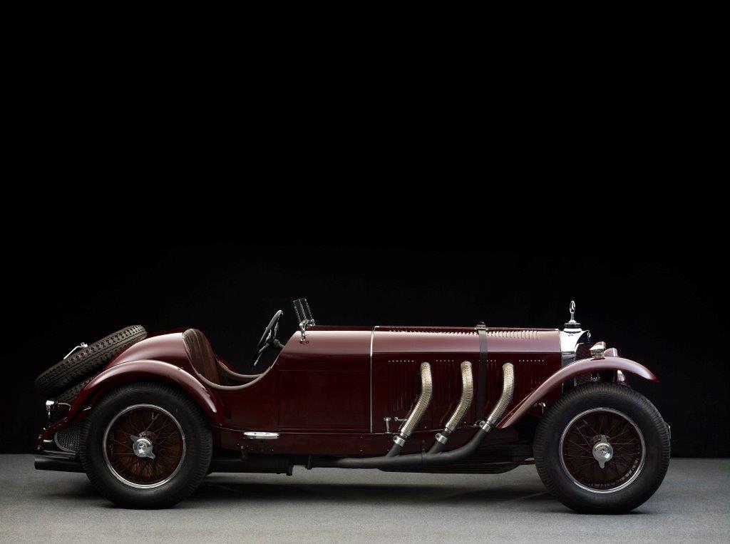 Der Mercedes SSK von 1928 wurde ursprünglich nach England ausgeliefert – an den Schriftsteller Sir Arthur Conan Doyle.
