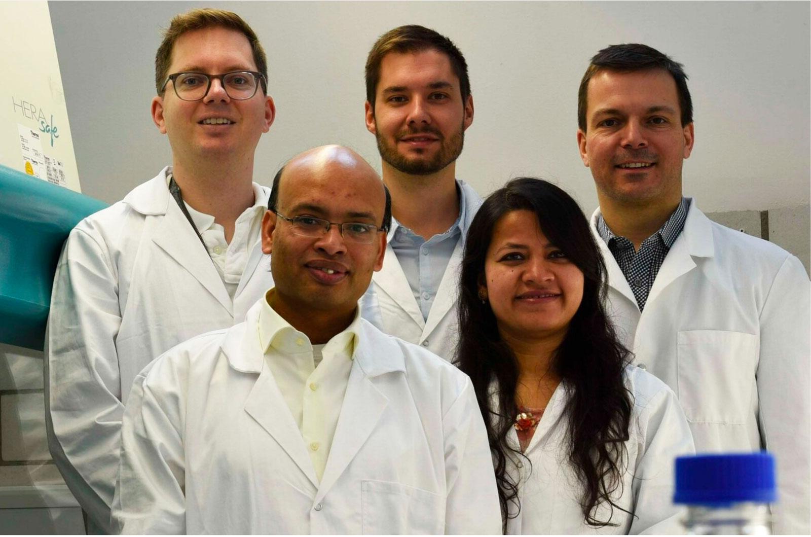 Das Team von Mirai Foods züchtet Fleisch im Labor.
