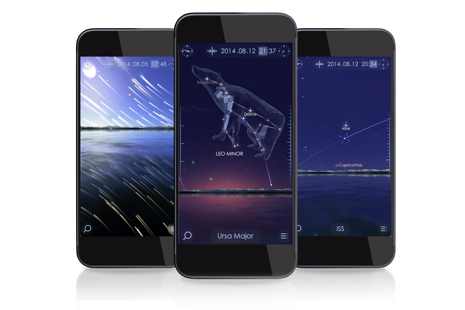 Sternengucker: StarWalk 2 zeigt die Sternbilder unabhängig von der Tageszeit.