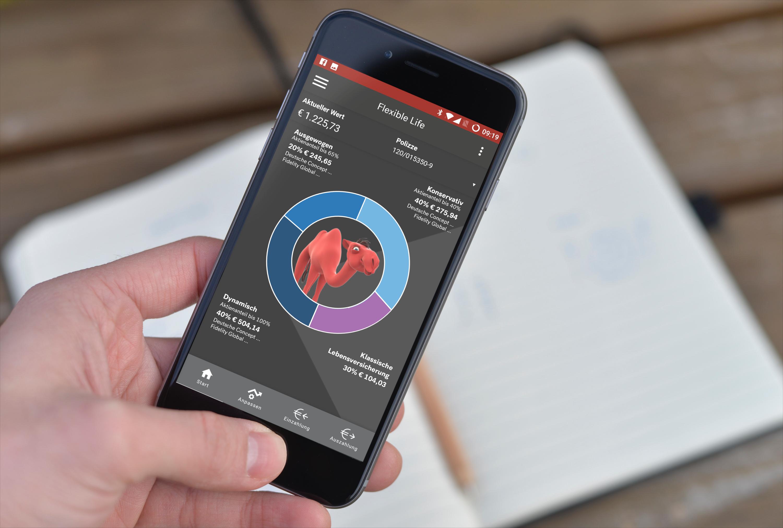 Volle Kontrolle: vom Smartphone aus den eigenen Vermögensaufbau überwachen und auch die Strategie wechseln