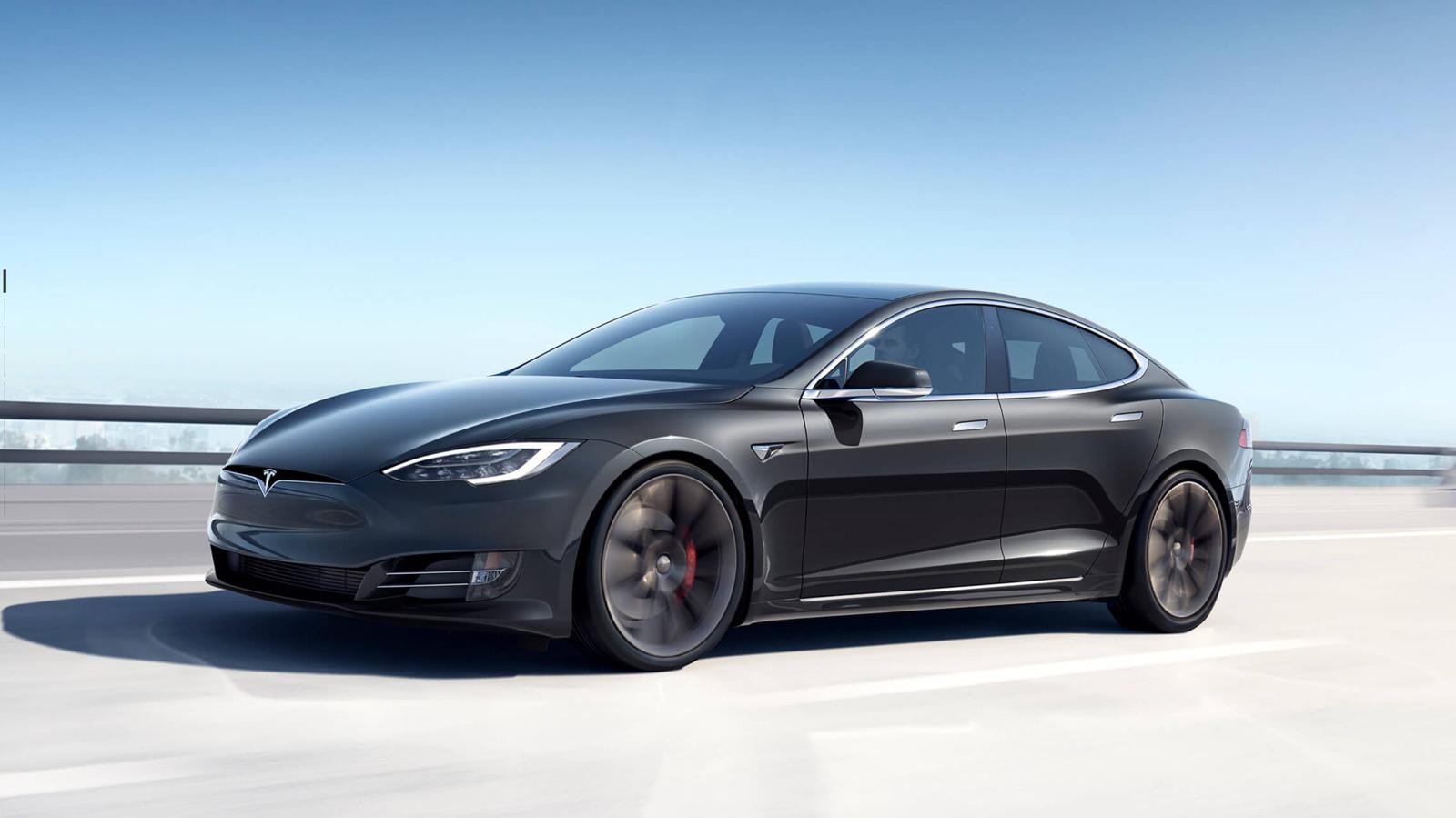 Tesla Modell S – Maximale Reichweite