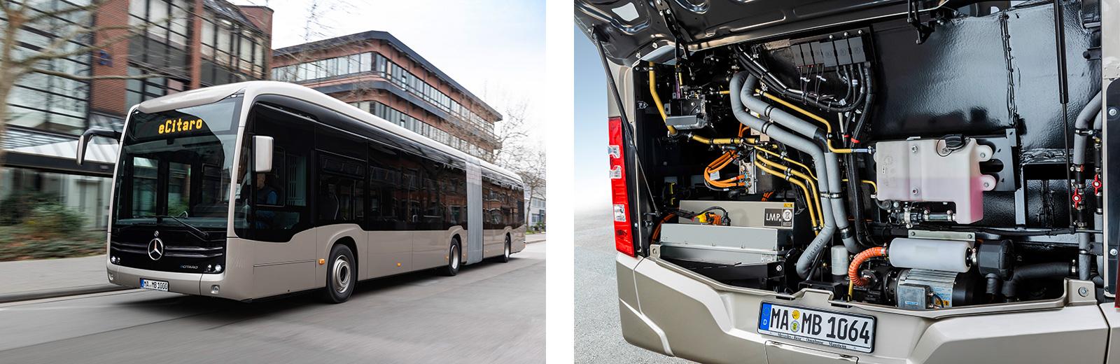 Betrieben mit sieben Festkörperbatterien: Mercedes-Benz eCitaro