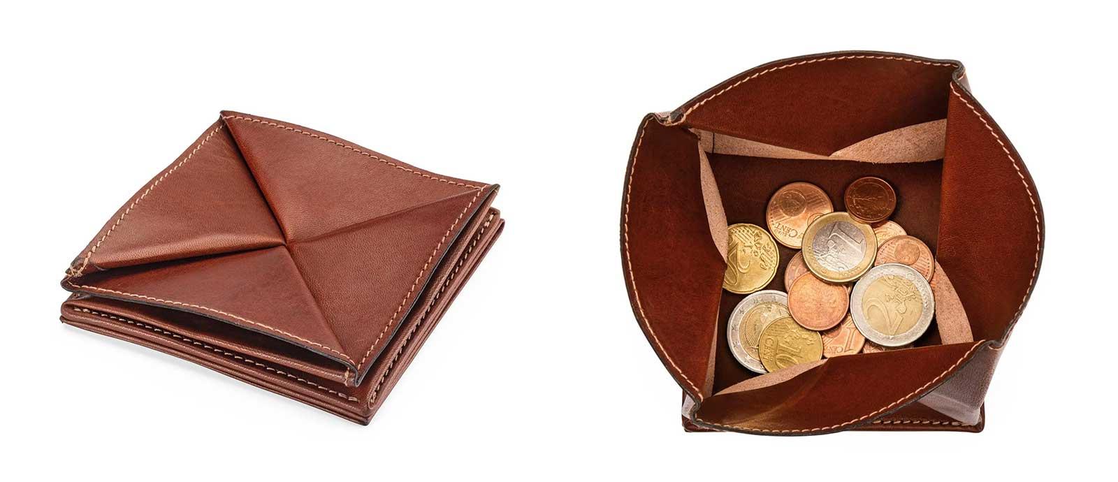 """klein, klassisch, dezent: Portemonnaie von """"Manufactum"""""""