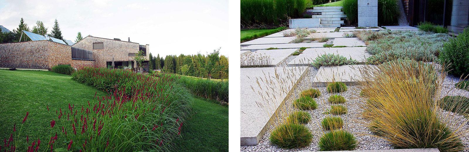 Zeitgenössische Interpretation des alpinen Steingartens von 3:0 Landschaftsarchitektur