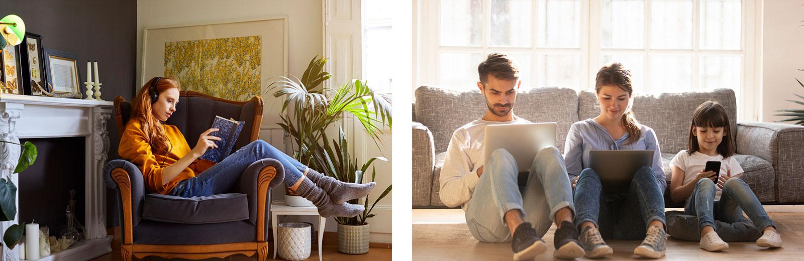 Unterschiedliche Wohn-Bedürfnisse: Alleine sein, Zusammensein - ohne zu interagieren