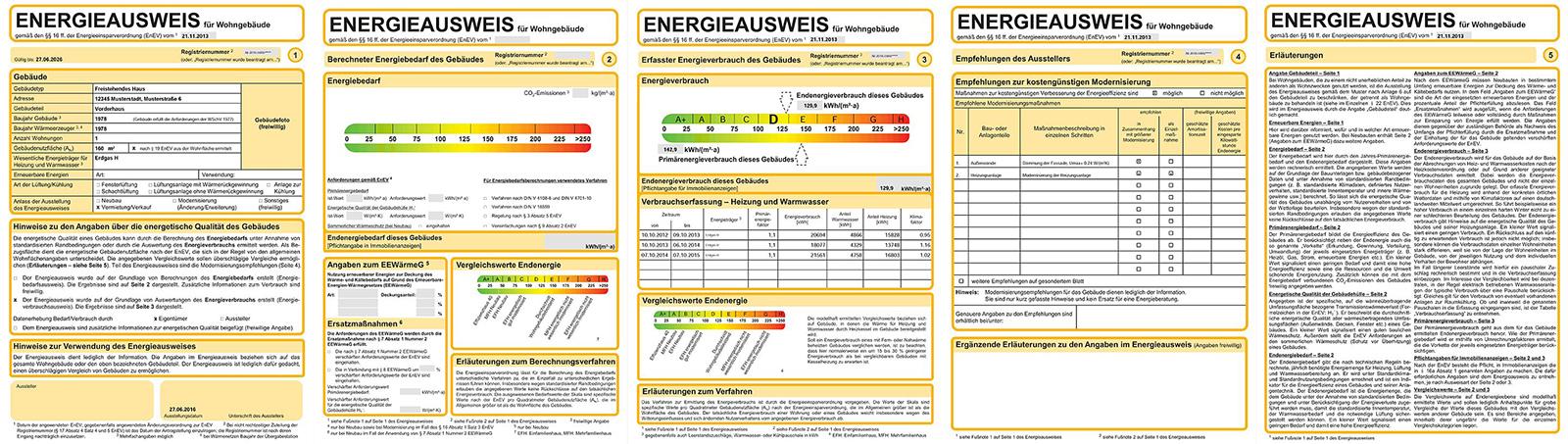 Pflicht seit 2012: Energieausweis