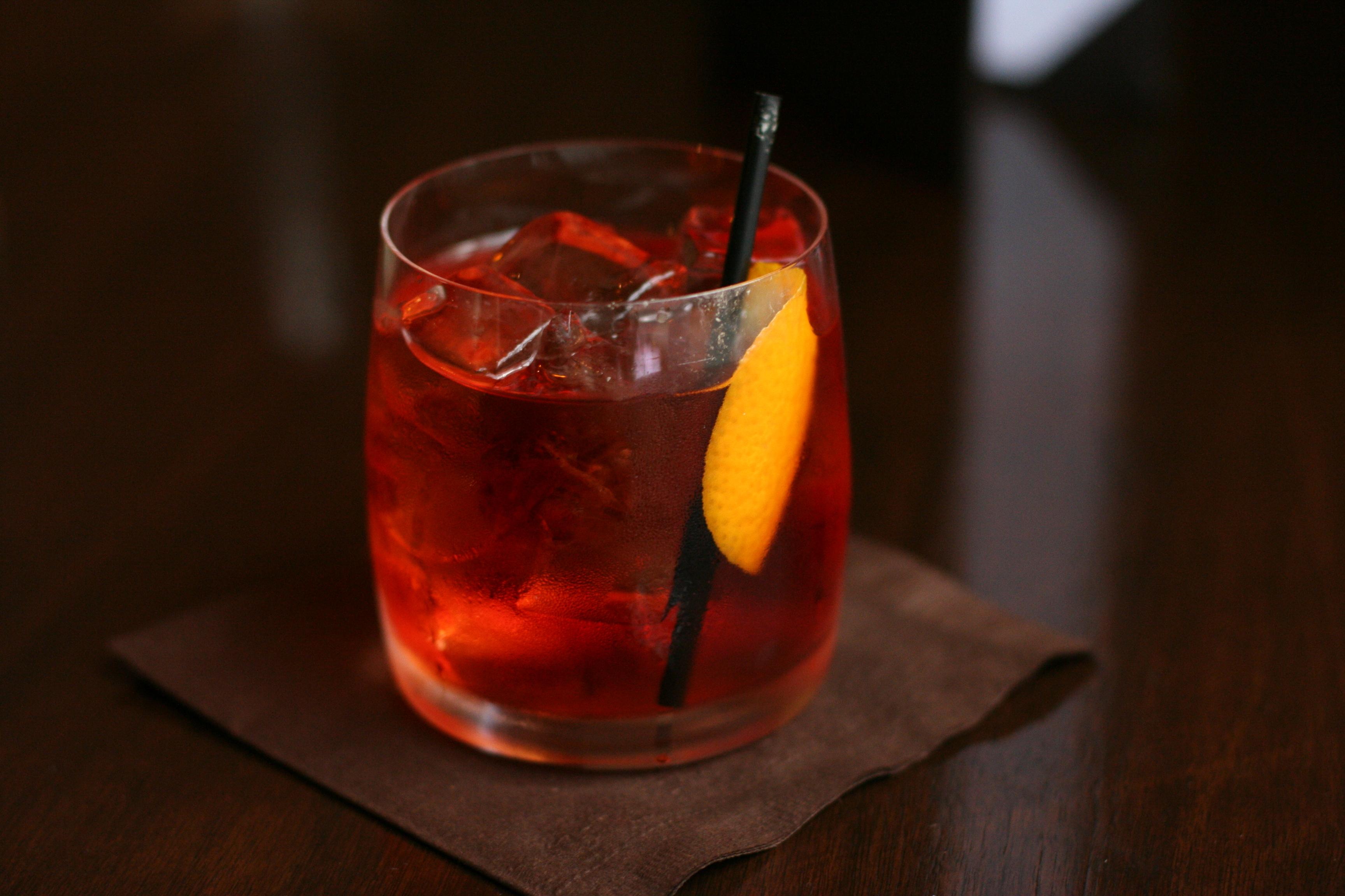 Der Negro Sbagliato ist ein ganz besonderer Cocktail.