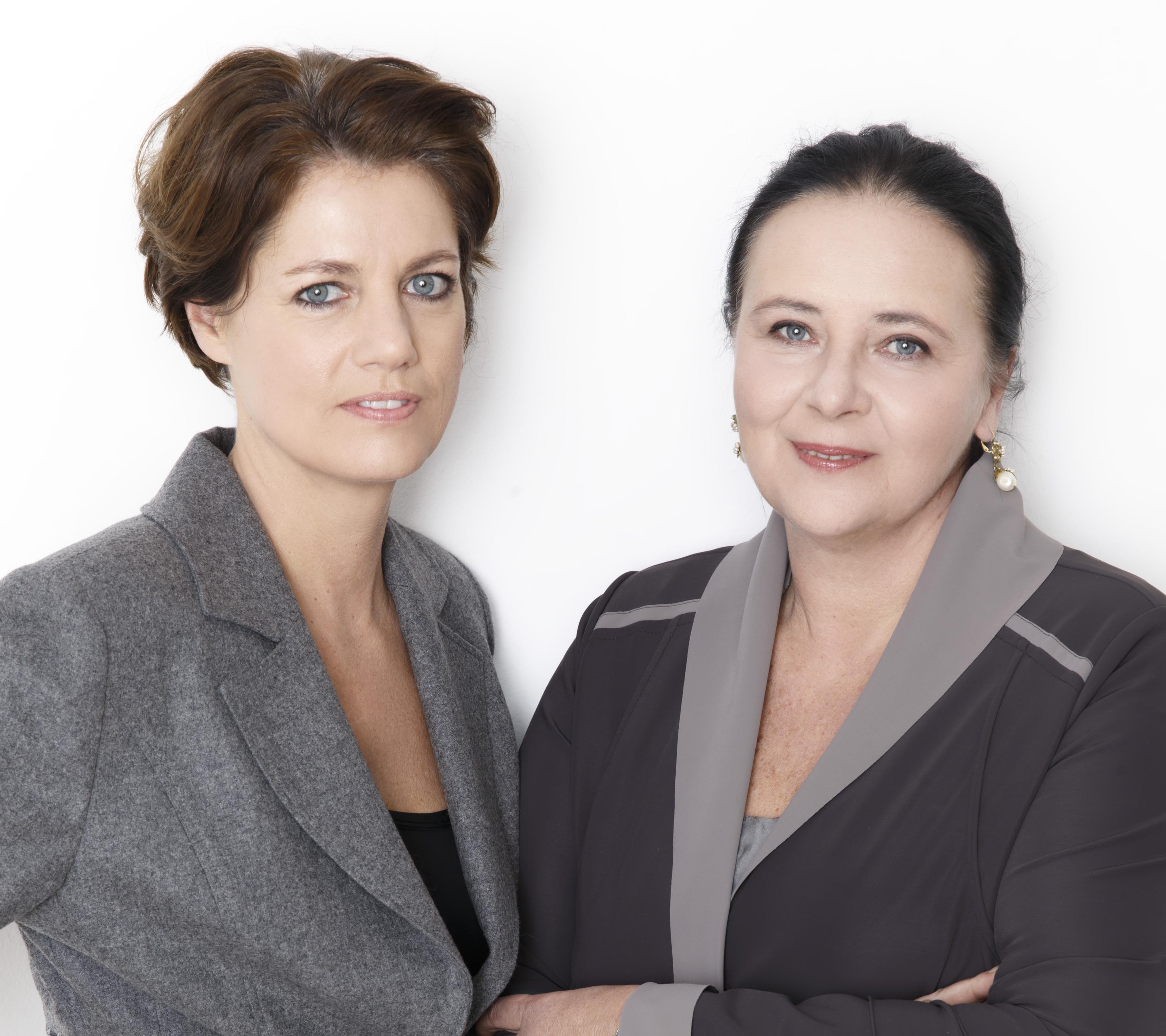 Martina Löwe und Doris Kiefhaber sind seit dem 1. Januar 2015 gemeinsam in der Geschäftsführung der Krebshilfe.