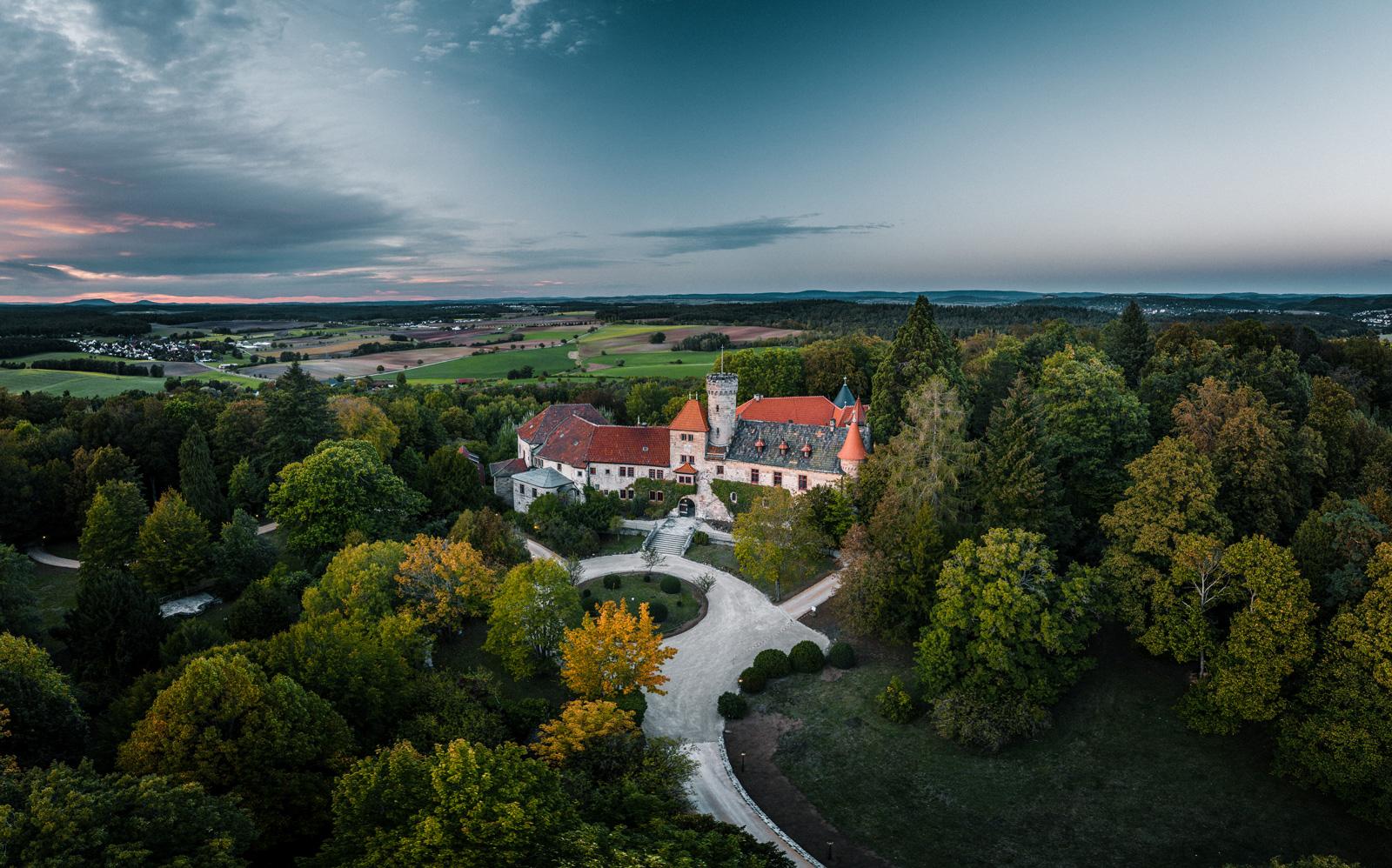 Schloss Hohenstein nahe Coburg (Bayern)