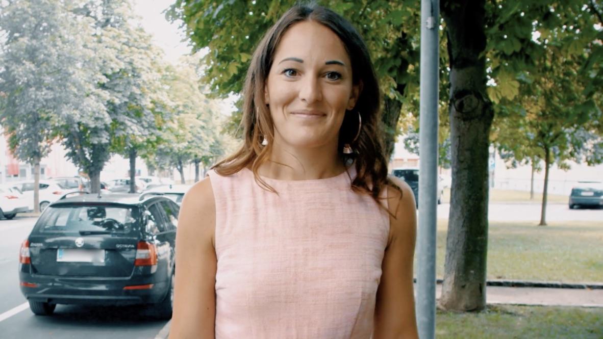 Hat ihren Traumjob gefunden: Julia Müller arbeitet als Finanzierungsexpertin bei Wüstenrot.